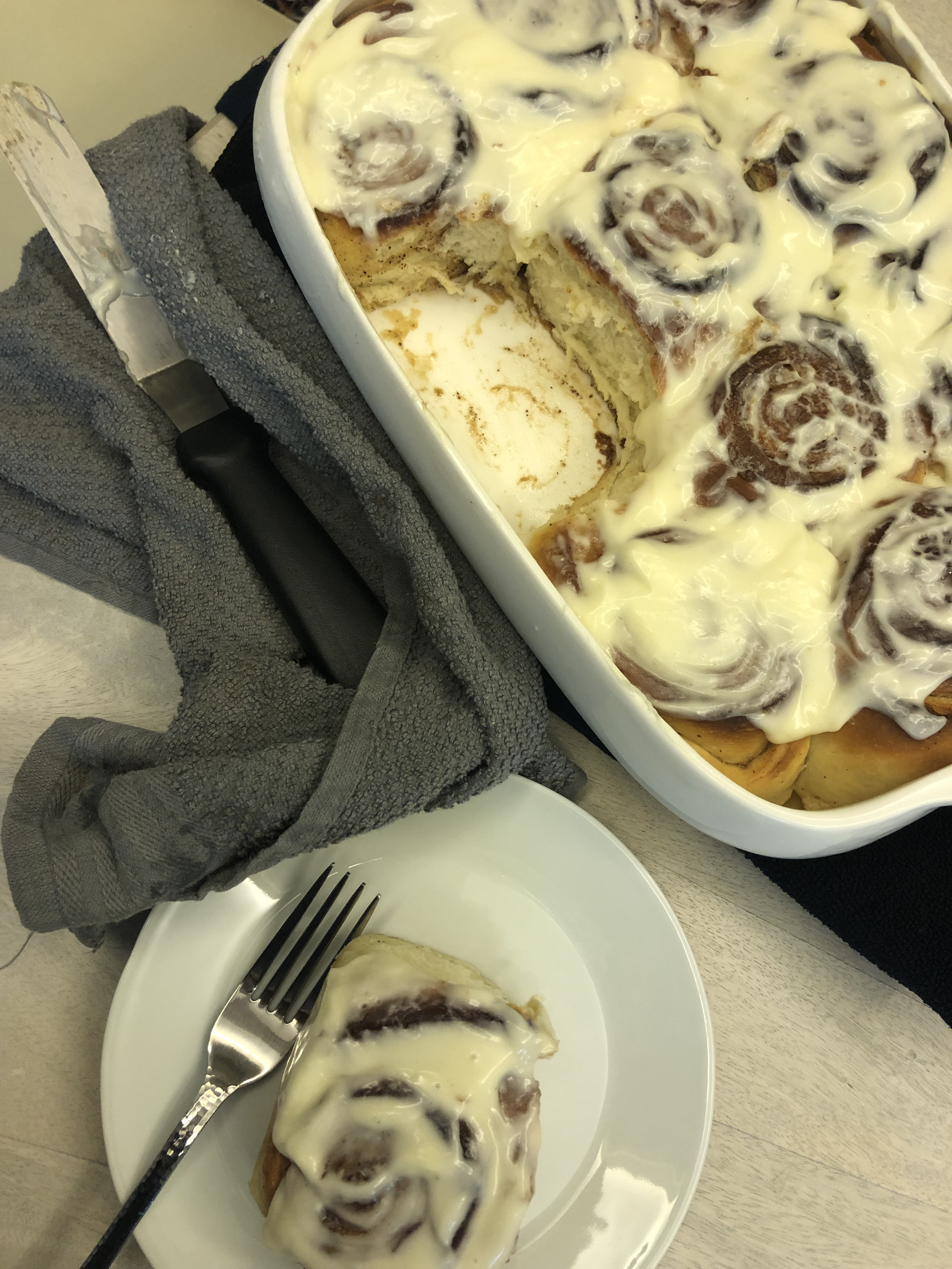 Better Than Cinnabon Cinnamon Rolls + Cream Cheese Frosting